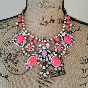 J. Crew Chunky Jewel Necklace.